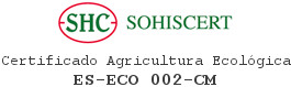 certificado agricultura ecológico